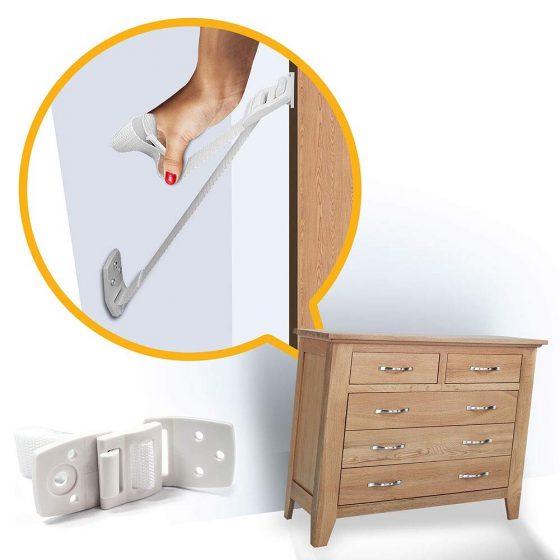 Furniture and TV Anti Tip Straps