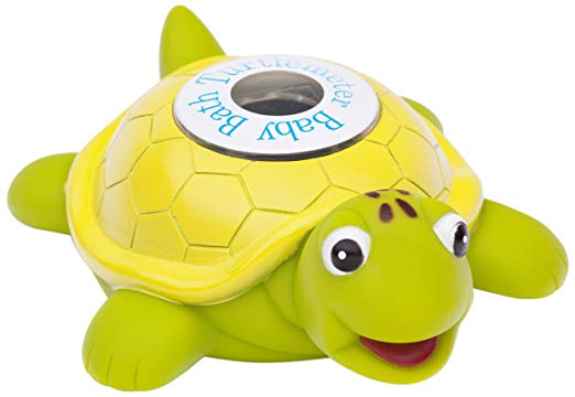turtle bath water thermometer kids