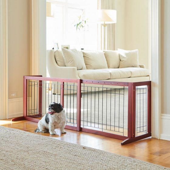 extra wide freestanding gate
