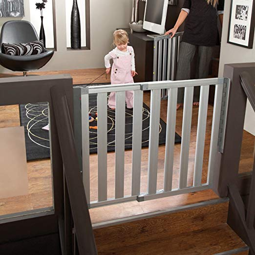 hardware-mount baby gate stairs
