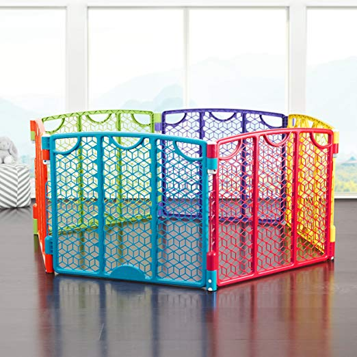 free standing baby gate color