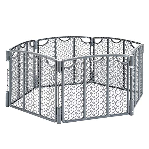 evenflo free standing baby gate play pen